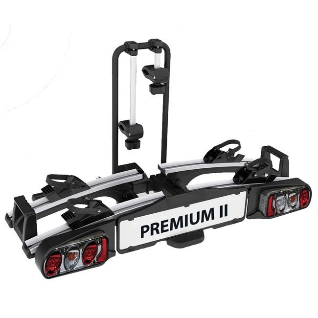 Porte-vélos D'attelage Plate-forme Eufab Premium 2 11521 Pour 2 Vélos Compatible Vélos Électriques