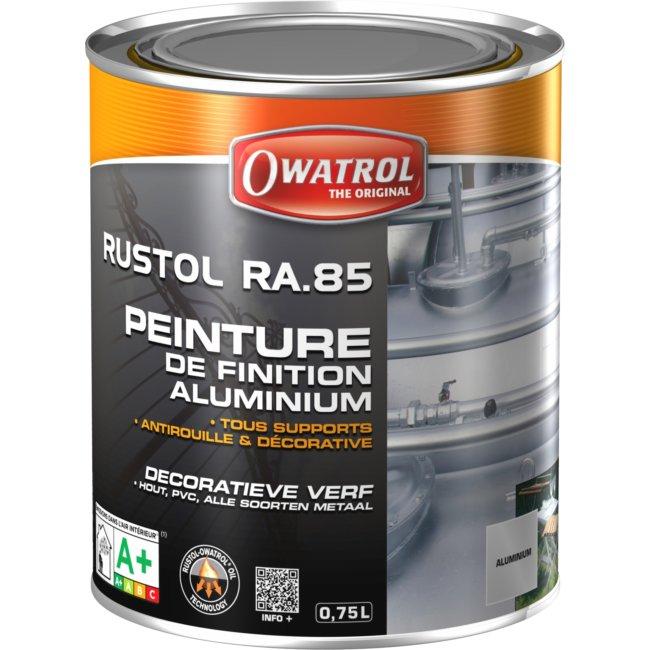 Peinture Décorative Aluminium Owatrol 750 Ml