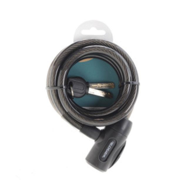 Antivol Spirale Câble Wayscral 12 X 150 Cm Pour Vélo