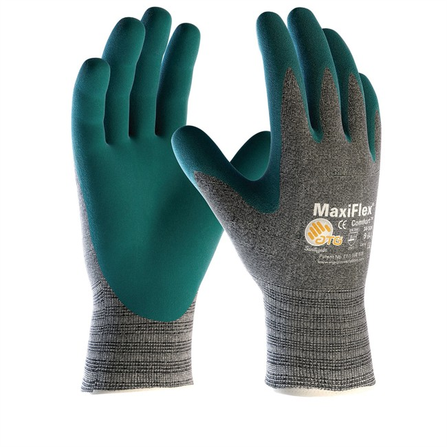 Paire De Gants En Nylon Pour Manutention En Milieux Froids Et Chauds Atg Maxiflex Comfort Taille 9
