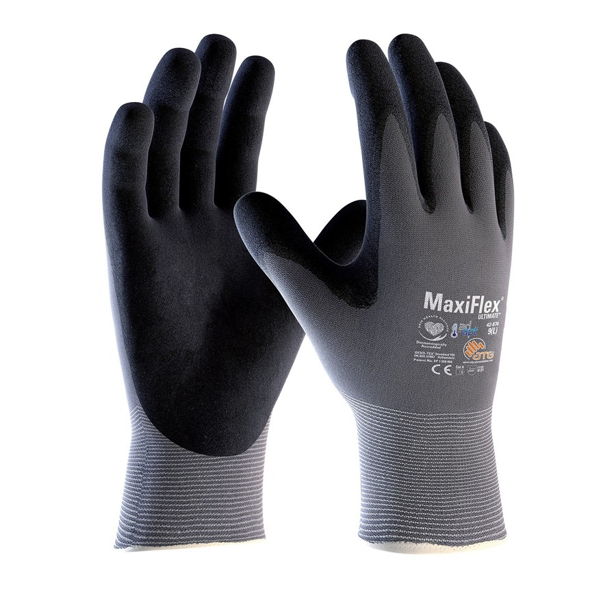 Paire de gants en nylon pour manutention ATG Maxiflex Ultimate taille 8