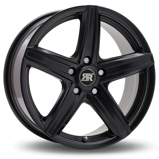 Jante Alu Racer Ice 8x18 5x112 Et35 Noir Mat