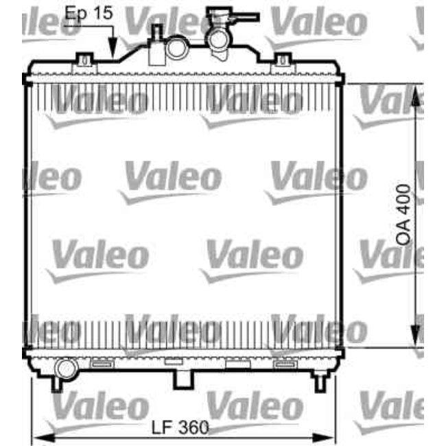 Radiateur De Refroidissement Valeo 735499