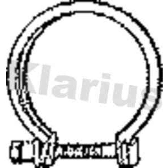 Autres Accessoires Échappement Klarius 430635