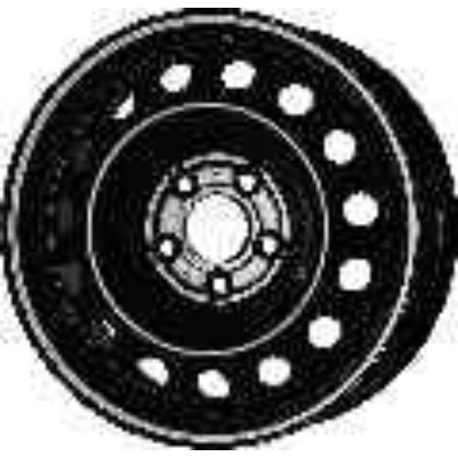 Jante Tôle 16 Pouces - 5 Trous - 6,5x16 5x114,3 Et48,5 Al67.1