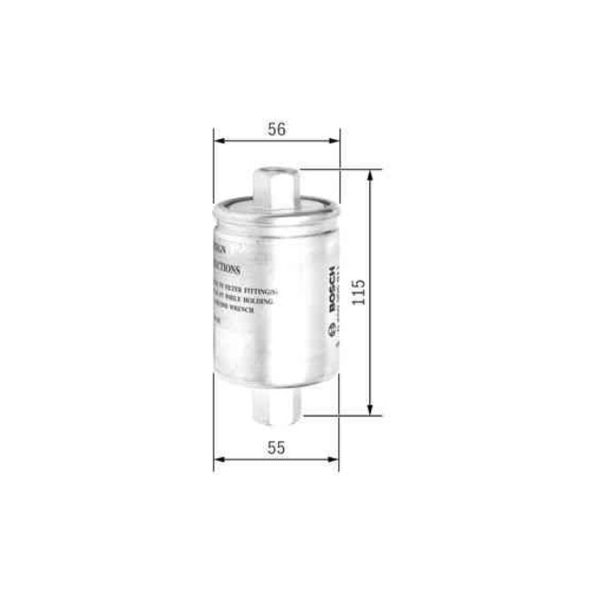 Bosch Filtre à carburant 0450905911