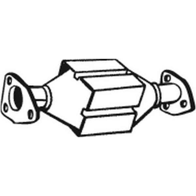 Catalyseur Bosal 099-760