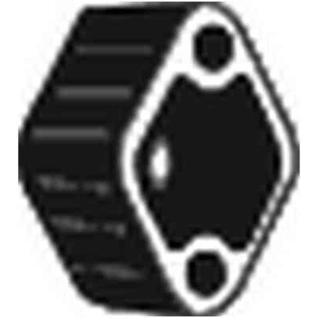 Silent-bloc Échappement Bosal 255-375 (kit)