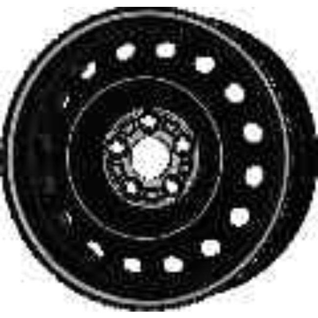 Jante Tôle 15 Pouces - 5 Trous - 6x15 5x100 Et48 Al56.1